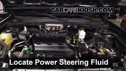 2006 Mazda Tribute S 3.0L V6 Power Steering Fluid