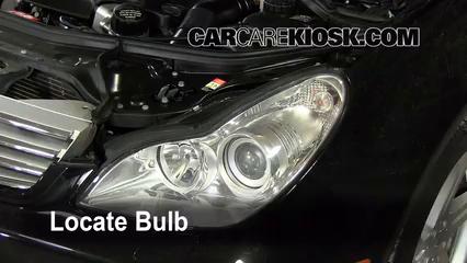 2006 mercedes-benz cls500 5 0l v8 lights highbeam (replace bulb)