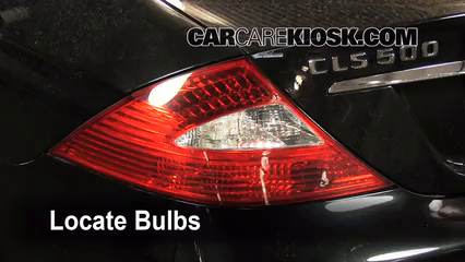 2006 mercedes-benz cls500 5 0l v8 lights tail light (replace bulb)