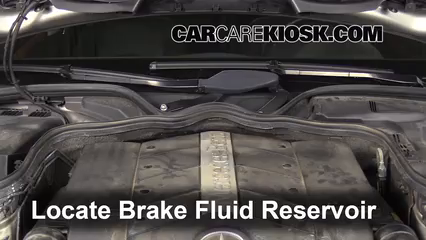 2006 Mercedes-Benz E500 5.0L V8 Brake Fluid