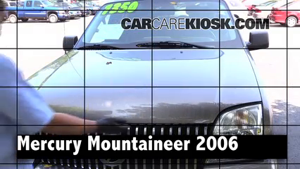 2006 Mercury Mountaineer Convenience 4.0L V6 Review