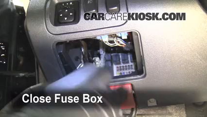 interior fuse box location: 2006-2012 mitsubishi eclipse - 2006 mitsubishi  eclipse gt 3 8l v6