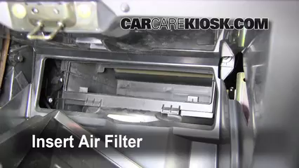 Cabin Filter Replacement: Nissan Altima 2002-2006 - 2006 ...