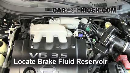 2005 nissan sentra brake fluid