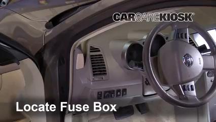 Interior Fuse Box Location 2004 2008 Nissan Maxima 2006 Nissan Maxima Se 3 5l V6