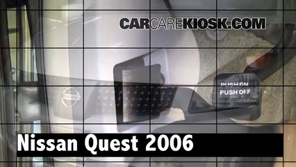 2006 Nissan Quest S 3.5L V6 Review