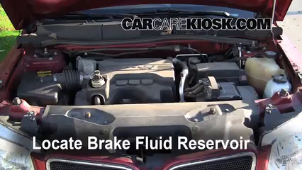 2007 pontiac g6 brake fluid