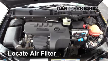 2006 Saturn Ion-3 2.2L 4 Cyl. Coupe Air Filter (Engine)