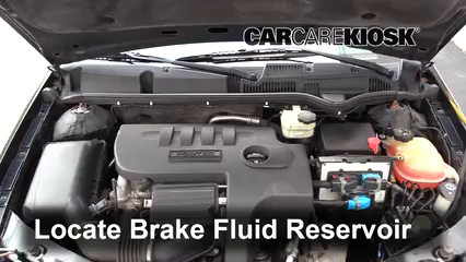 2006 Saturn Ion-3 2.2L 4 Cyl. Coupe Brake Fluid