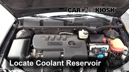 2006 Saturn Ion-3 2.2L 4 Cyl. Coupe Fluid Leaks