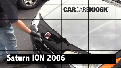 2006 Saturn Ion-3 2.2L 4 Cyl. Coupe Review