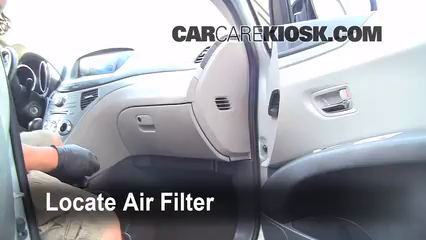 2006 Subaru B9 Tribeca 3.0L 6 Cyl. Air Filter (Cabin)