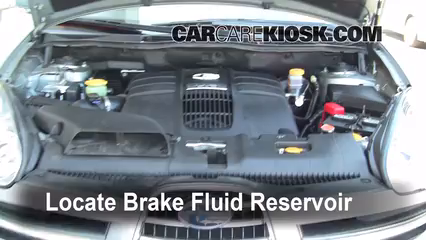 2006 Subaru B9 Tribeca 3.0L 6 Cyl. Brake Fluid