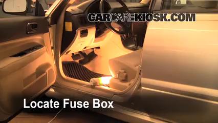 interior fuse box location 2003 2005 subaru forester 2005 subaru rh carcarekiosk com Subaru Forester Fuse Box Diagram 2003 Subaru Forester Fuse Box Location
