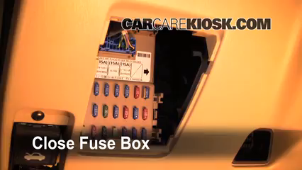 Interior Fuse Box Location: 2003-2005 Subaru Forester - 2003 Subaru