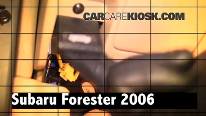2006 Subaru Forester X 2.5L 4 Cyl. Review
