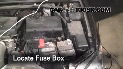 2006 Toyota Camry LE 2.4L 4 Cyl.%2FFuse Engine Part 1 replace a fuse 2002 2006 toyota camry 2006 toyota camry le 2 4l 2002 Toyota Camry Fuse Box Diagram at eliteediting.co