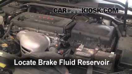 2006 Toyota Camry LE 2.4L 4 Cyl. Brake Fluid Check Fluid Level