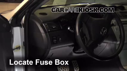 interior fuse box location 2004 2008 toyota solara 2006 toyota rh carcarekiosk com 2003 toyota solara fuse box location 99 toyota solara fuse box location