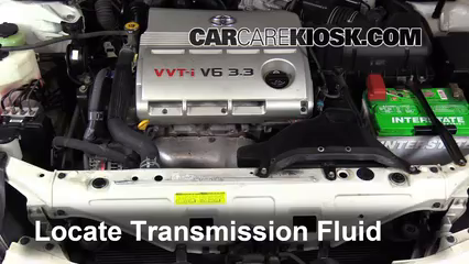 2006 Toyota Solara SLE 3.3L V6 Coupe Transmission Fluid Add Fluid