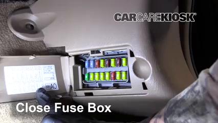 Interior Fuse Box Location: 2001-2006 Acura MDX - 2004 Acura MDX 3.5L V6 | Acura Mdx 2004 Fuse Box |  | CarCareKiosk
