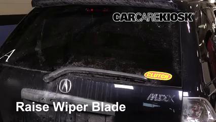 2006 Acura MDX Touring 3.5L V6 Balais essuie-glace arrière