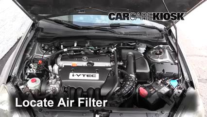 2002 Acura RSX Type-S 2.0L 4 Cyl. Filtro de aire (motor)