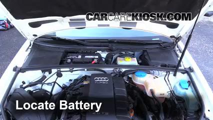 2006 Audi A4 Quattro 2.0L 4 Cyl. Turbo Batterie