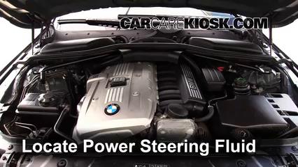 Check Power Steering Level Bmw 530xi 2004 2010 2006 Bmw 530xi 3 0l 6 Cyl Wagon