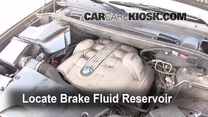 2006 BMW X5 4.4i 4.4L V8 Líquido de frenos
