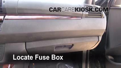 Interior Fuse Box Location 2000 2006 Bmw X5 2006 Bmw X5 4 4i 4 4l V8