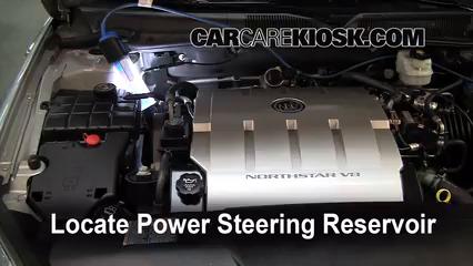 2006 Buick Lucerne CXS 4.6L V8 Power Steering Fluid