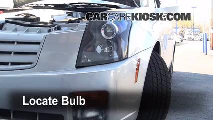 2006 Cadillac CTS 3.6L V6 Luces Luz de carretera (reemplazar foco)