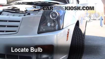 2006 Cadillac CTS 3.6L V6 Luces Faro delantero (reemplazar foco)