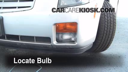 2006 Cadillac CTS 3.6L V6 Luces Luz de marcha diurna (reemplazar foco)