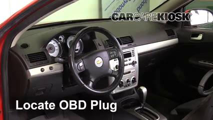 2006 Chevrolet Cobalt LT 2.2L 4 Cyl. Coupe (2 Door) Lumière « Check engine » du moteur