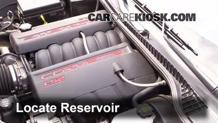 2006 Chevrolet Corvette 6.0L V8 Convertible Líquido limpiaparabrisas