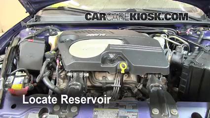 2006 Chevrolet Monte Carlo LT 3.9L V6 Windshield Washer Fluid