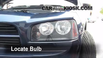 2006 Dodge Charger SXT 3.5L V6 Luces Luz de carretera (reemplazar foco)