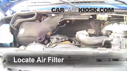 2006 Dodge Sprinter 2500 2.7L 5 Cyl. Turbo Diesel Standard Passenger Van (3 Door) Air Filter (Engine)