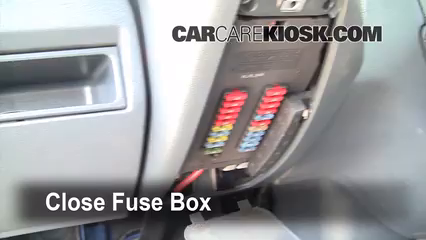 Interior Fuse Box Location: 2002-2006 Dodge Sprinter 2500 - 2006 Dodge  Sprinter 2500 2.7L 5 Cyl. Turbo Diesel Standard Passenger Van (3 Door)CarCareKiosk