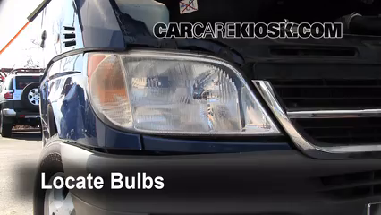 2006 Dodge Sprinter 2500 2.7L 5 Cyl. Turbo Diesel Standard Passenger Van (3 Door) Luces Luz de estacionamiento (reemplazar foco)