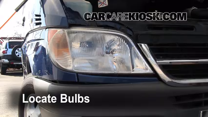 2006 Dodge Sprinter 2500 2.7L 5 Cyl. Turbo Diesel Standard Passenger Van (3 Door) Luces Luz de giro delantera (reemplazar foco)