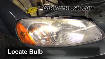2006 Dodge Stratus SXT 2.7L V6 Luces Luz de giro delantera (reemplazar foco)