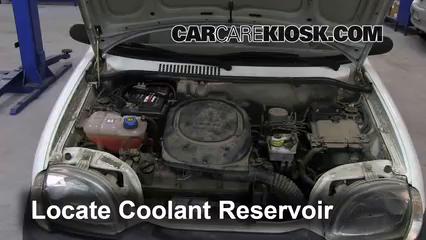 2006 Fiat Seicento 600 Van 1.1L 4 Cyl. Coolant (Antifreeze) Fix Leaks