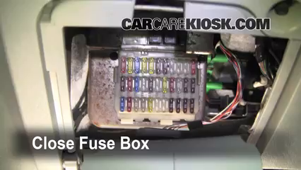 Interior Fuse Box Location: 2005-2007 Ford Focus - 2006 Ford Focus ZX3 2.0L  4 Cyl.CarCareKiosk