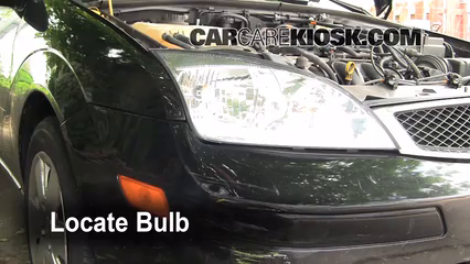 2006 Ford Focus ZX3 2.0L 4 Cyl. Lights Highbeam (replace bulb)