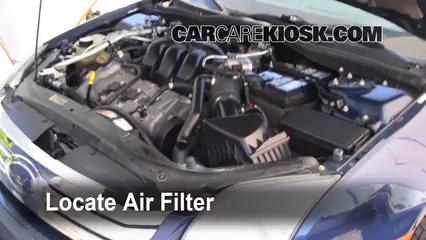 2010 Lincoln MKZ 3.5L V6 Air Filter (Engine)