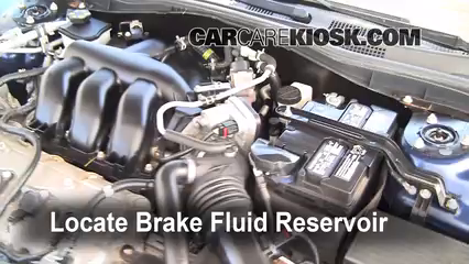 2010 Lincoln MKZ 3.5L V6 Brake Fluid