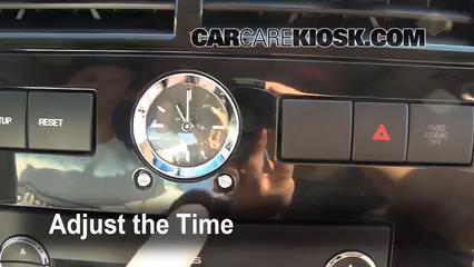 2006 Ford Fusion SE 3.0L V6 Horloge